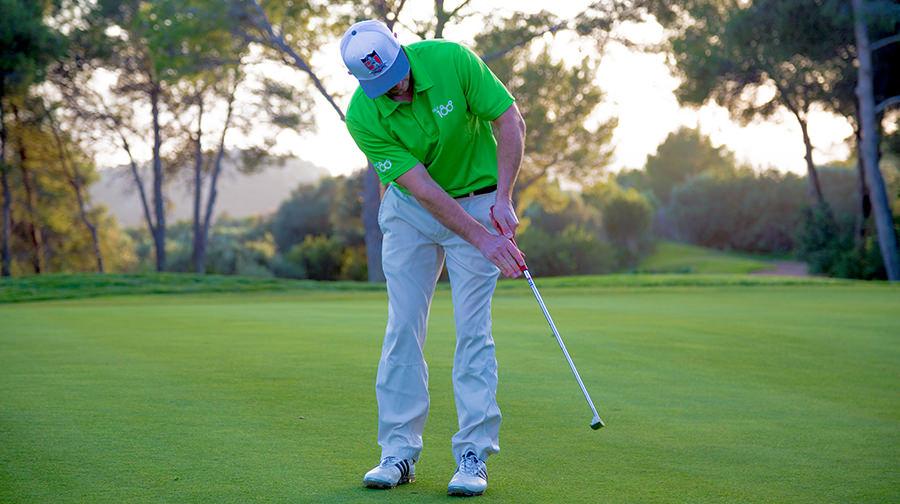 Capdepera Golfplatz - Mallorca Silas Wagner am Putten - Golf 180