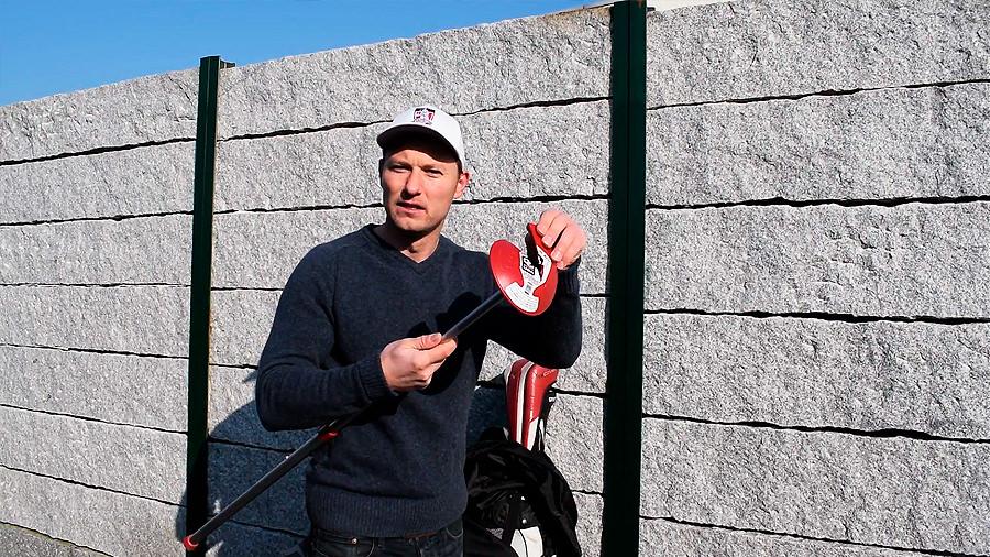 Club Glove Stiff Arm - Teller gebrochen