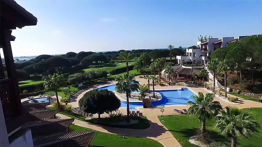 Costa de la Luz - El Rompido Golf Hotel - Pool Anlage