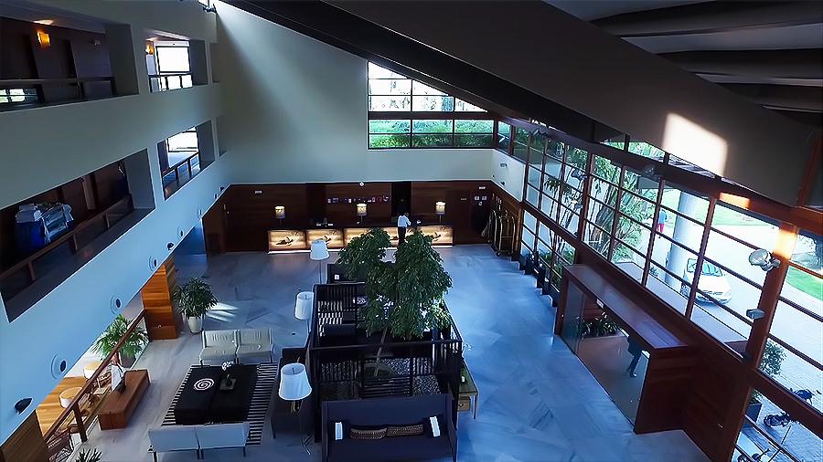 Costa de la Luz - El Rompido Golf Hotel - Rezeption Lobby / Eingang