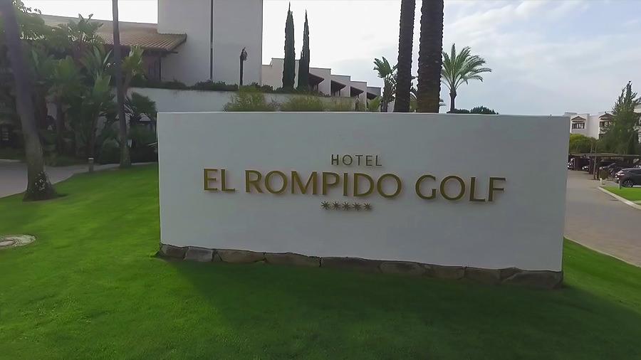 Costa de la Luz - El Rompido Golf Hotel - Schild Eingang