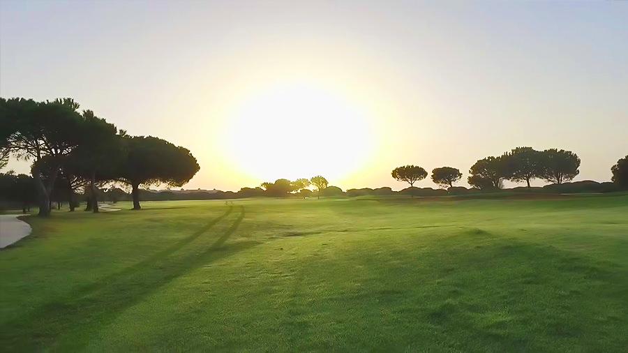 Costa de la Luz - El Rompido Golf Hotel - Wald Grün Sonnenaufgang