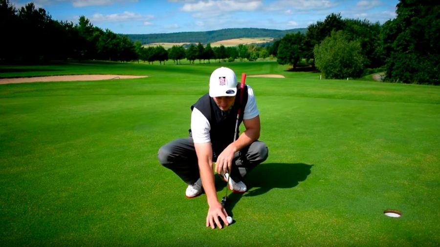 Golfregeln - Auf dem Grün - Ball anfassen - Silas Wagner Golf180