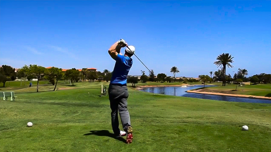 Golfreise - Golfplatz Fuerteventura - Abschlag