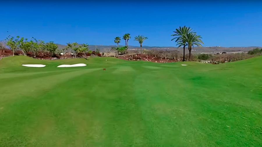 Golfreise Teneriffa Golfplatz Abama - Grün