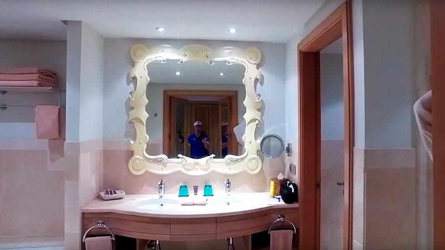 Golfreise Teneriffa - Hotel Ritz Carlton Abama - Badezimmer