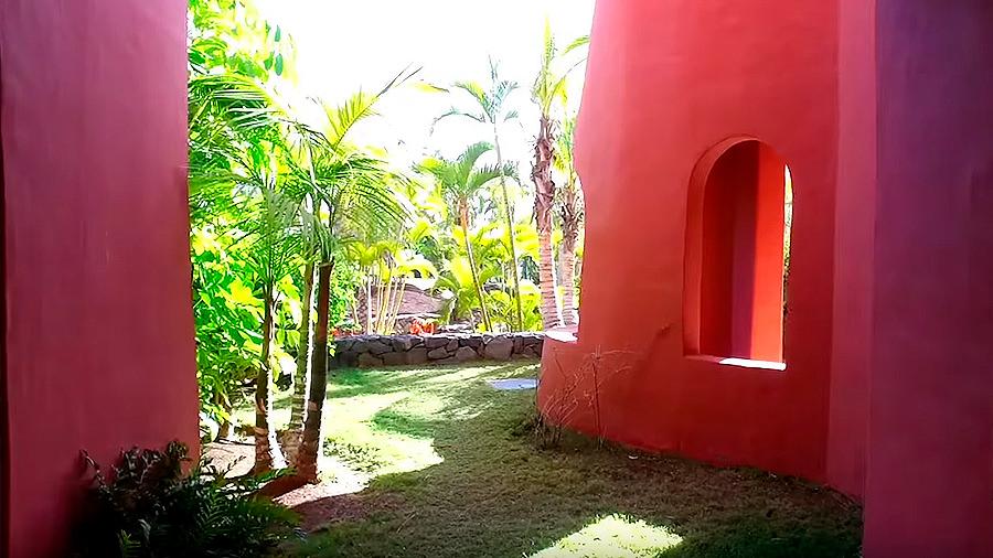 Golfreise Teneriffa - Hotel Ritz Carlton Abama - Balkon Blick