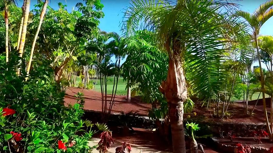 Golfreise Teneriffa - Hotel Ritz Carlton Abama - Blick auf Golfplatz
