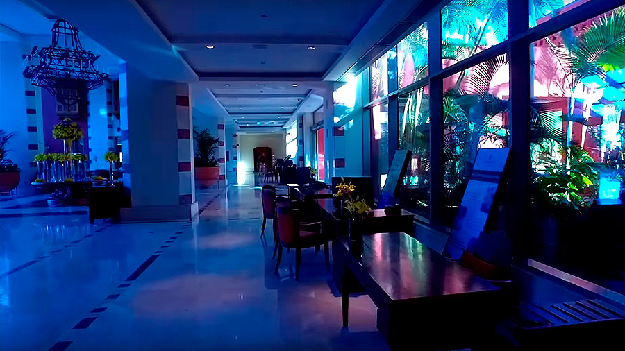 Golfreise Teneriffa - Hotel Ritz Carlton Abama - Lobby