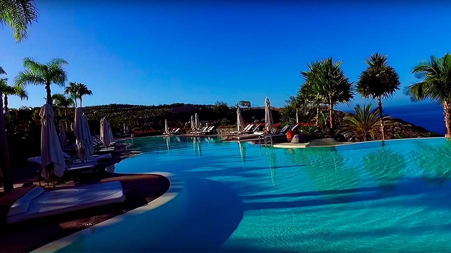 Golfreise Teneriffa - Hotel Ritz Carlton Abama - Pool Wasser