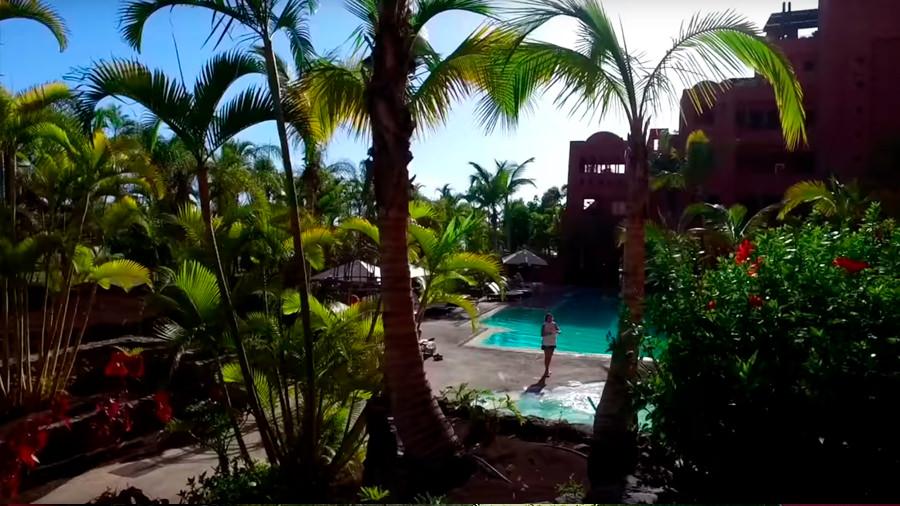 Golfreise Teneriffa - Hotel Ritz Carlton Abama - Pool