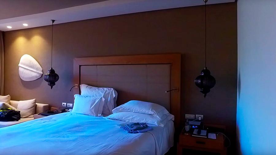 Golfreise Teneriffa - Hotel Ritz Carlton Abama - Zimmer & Bett